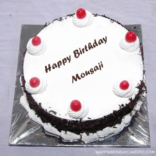 Sweet Cake For Happy Birthday Mausaji
