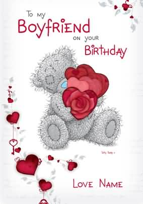 To My Boyfriend On Your Birthday