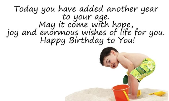 Today Have Added Another Years To Your Age May It Come With Hope Happy Birthday To You