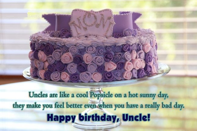 Uncle Are Like A Cool Popside On A Hot Sunny Day Happy Birtdhay Uncle