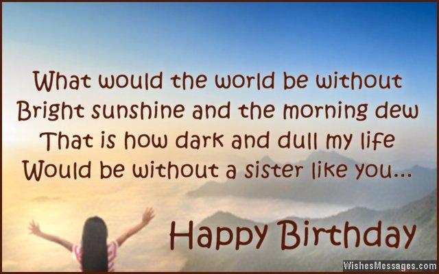 What Would The World The Be Without Bright Sunshine Happy Birthday