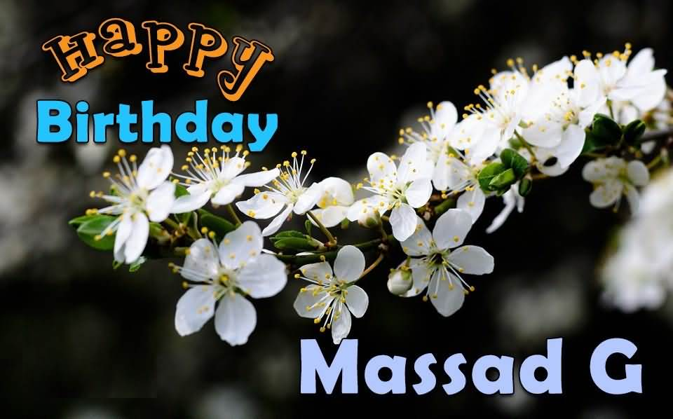 Wishing You A Very Happy Birthday Massad G
