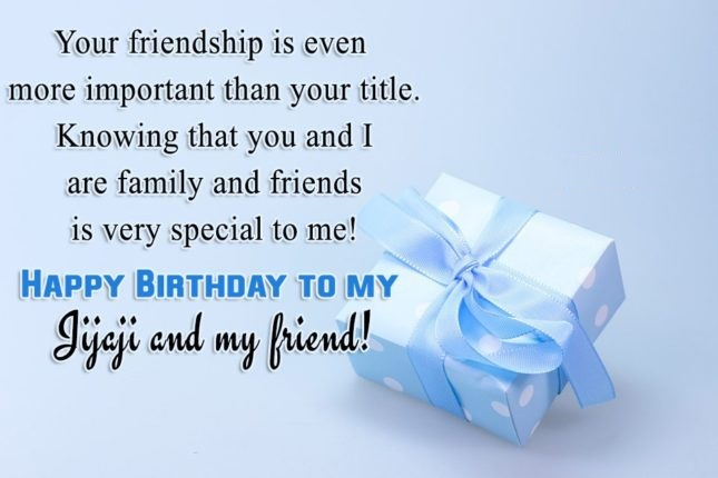 Your Friendship Is Even More Important Than Title Happy Birthday To My Jijaji And
