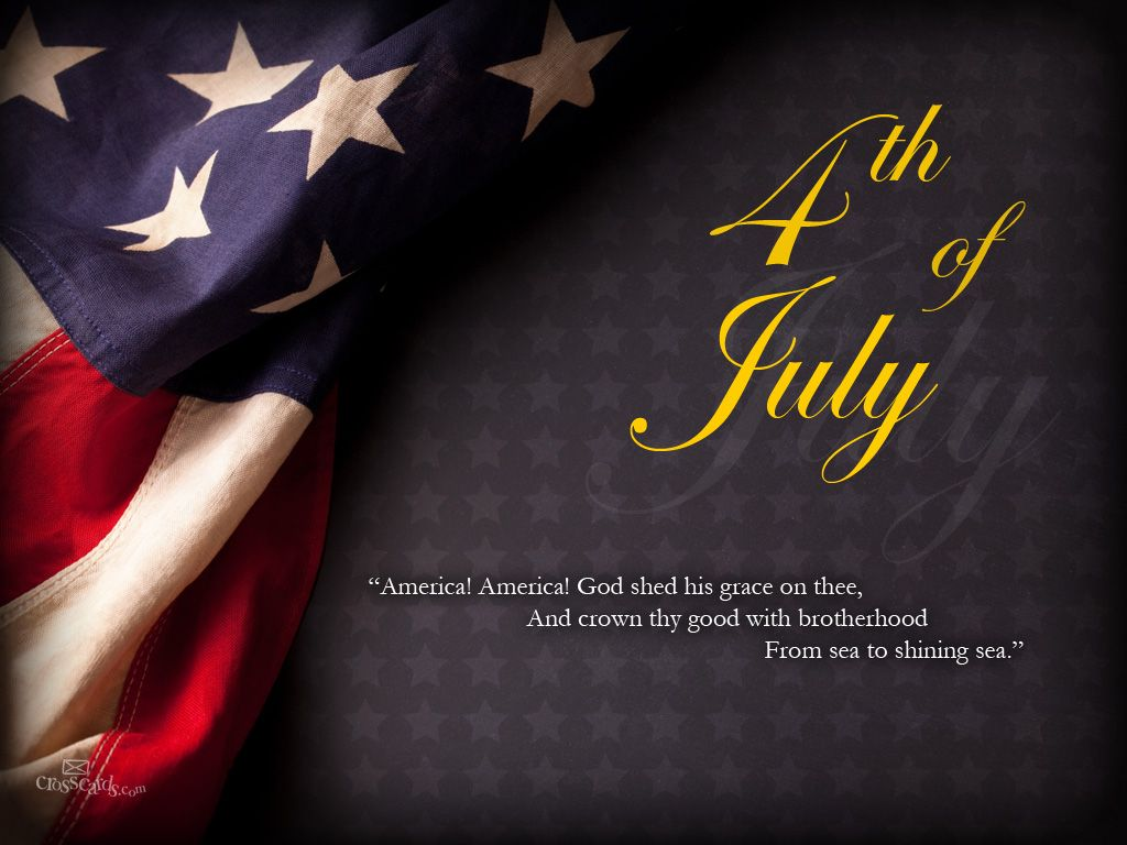 America God Shed His Grace On The And Crown Thy Good With Brotherhood From Sea To Shining  4th Of July