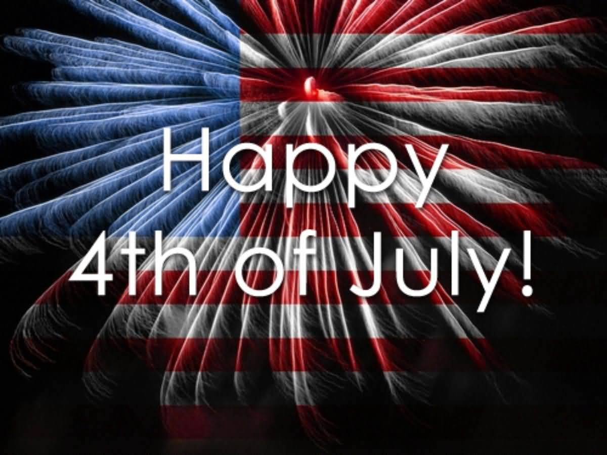 Awesome Picture Happy 4th Of July