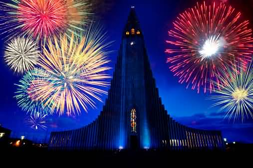 Great Picture Of Firework On 4th Of July