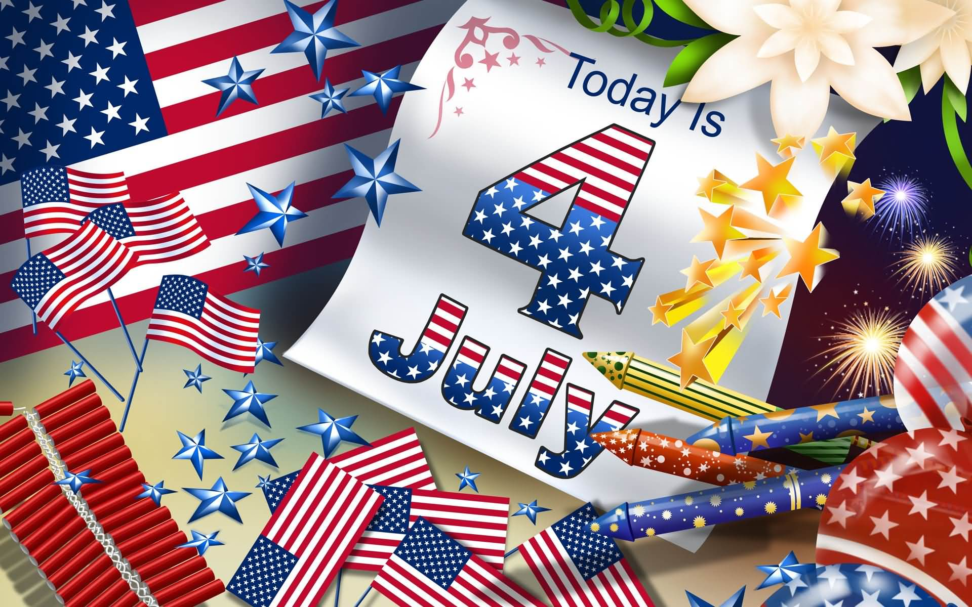 Today Is 4 July Image