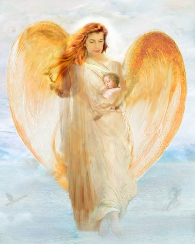 Angel Care Of Baby Graphic