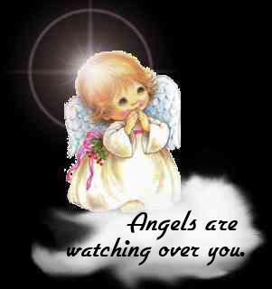 Angels Are Watching Over You Image