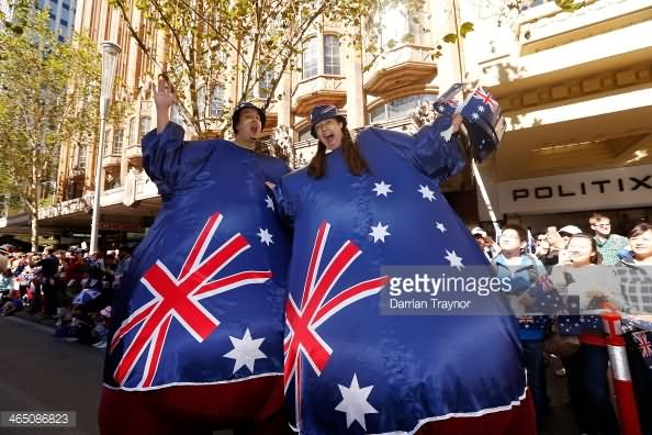 Australia Day Parade Funny Photo
