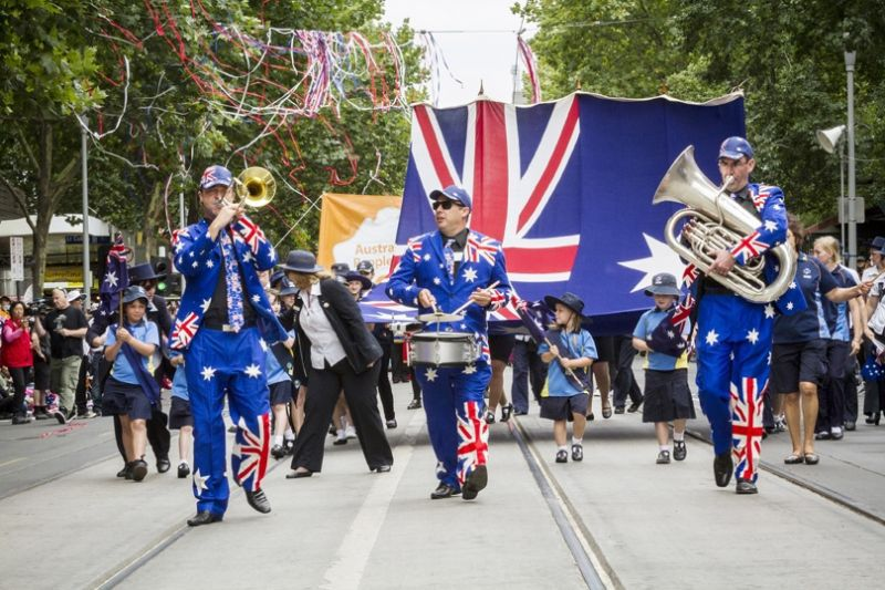 Australia Day Parade Picture