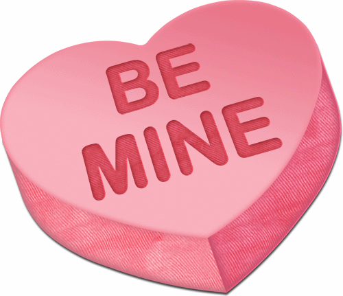 Be Mine Heart Greetings