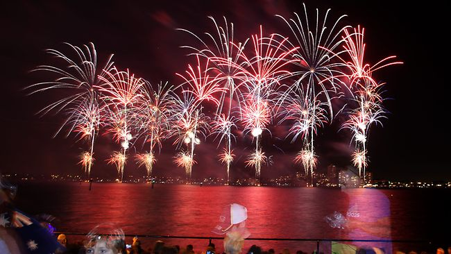 Beautiful Australia Day Fireworks