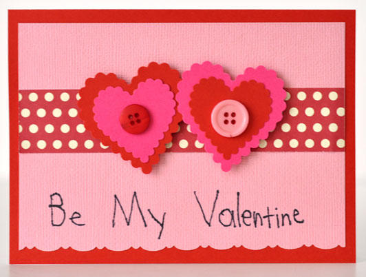 Beautiful Be My Valentine Greeting E-Card