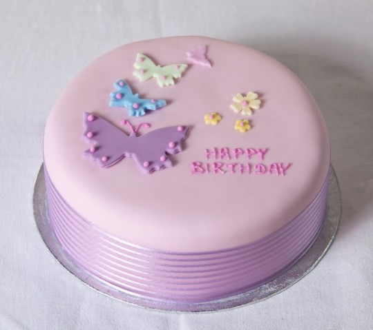 Beautiful Butterfly Birthday Cake Idea
