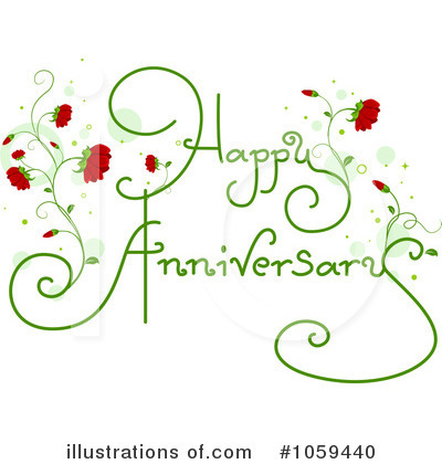 Beautiful Happy Anniversary Greetings E-Card