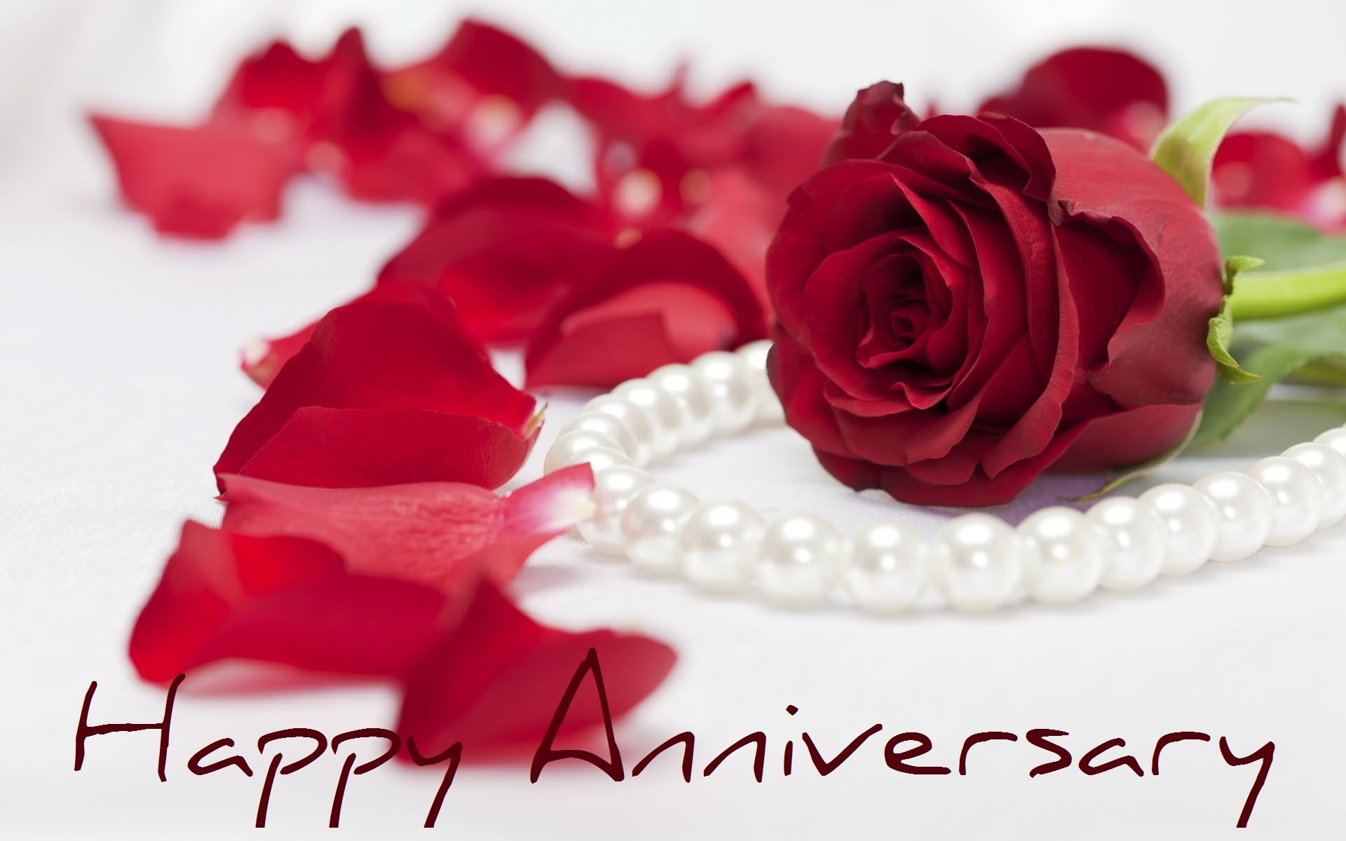 Beautiful Happy Anniversary Wishes Picture