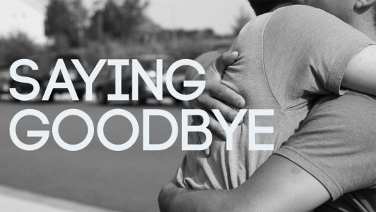 Beautiful Saying Goodbye Picture