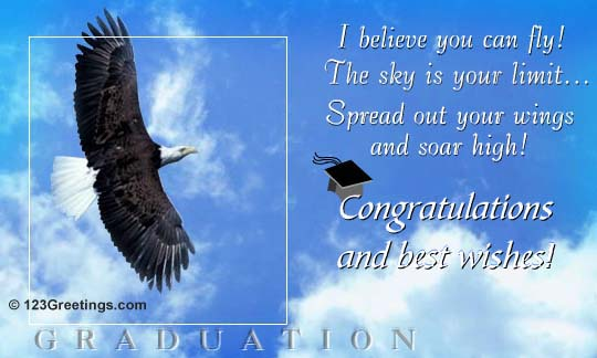 Congratulations And Best Wishes Graduation Picture
