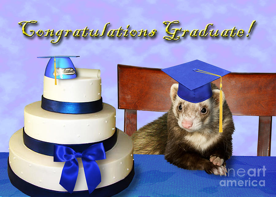 Congratulations Graduate Cake Greeting Picture
