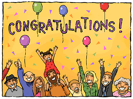 Congratulations Greetings E-Card Picture