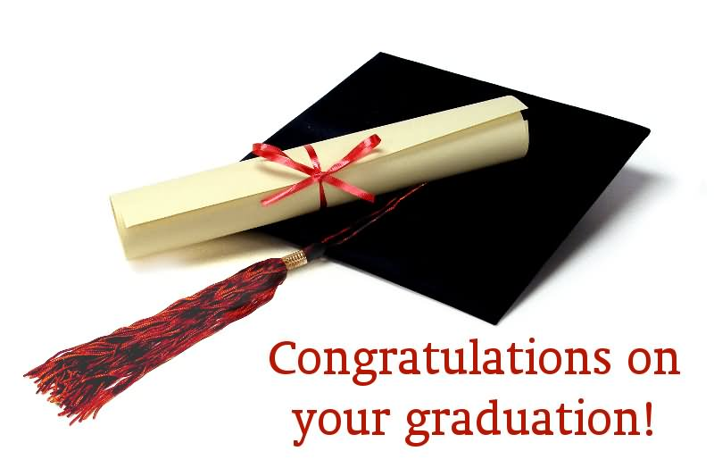 Congratulations On Your Graduation Greeting Image