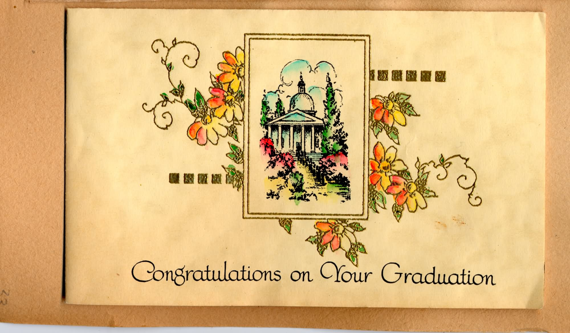 Congratulations On Your Graduation Greeting Picture