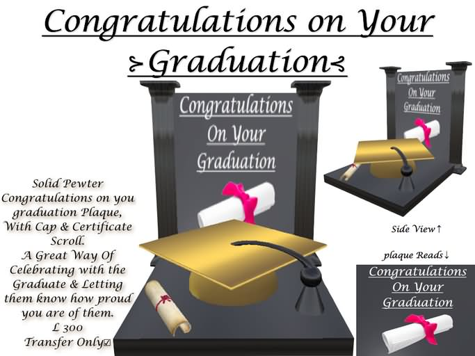 Congratulations On Your Graduation Wishes Picture
