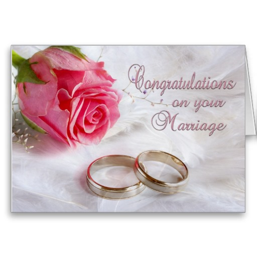 Congratulations On Your Marriage Greeting