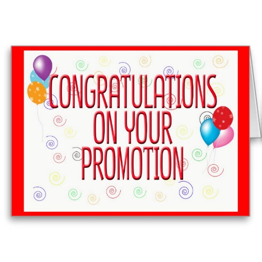Congratulations On Your Promotion Greeting Card Greeting Image