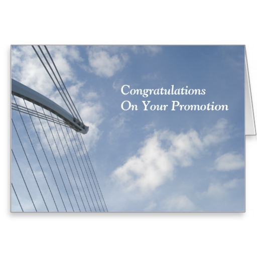 Congratulations On Your Promotion Greeting Card Greeting Picture