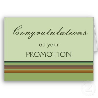 Congratulations On Your Promotion Greeting E-Card