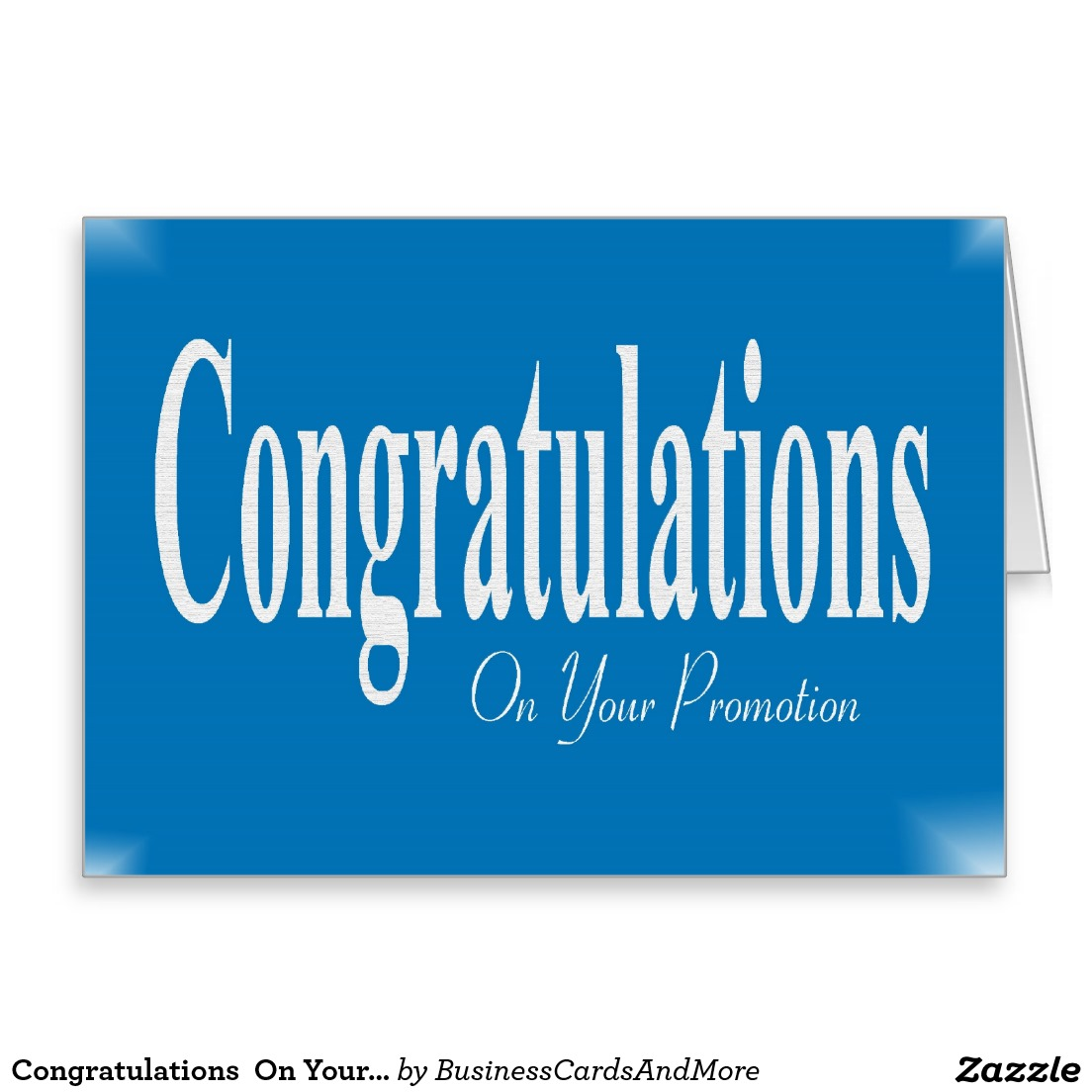 Congratulations On Your Promotion Wishes Card Image