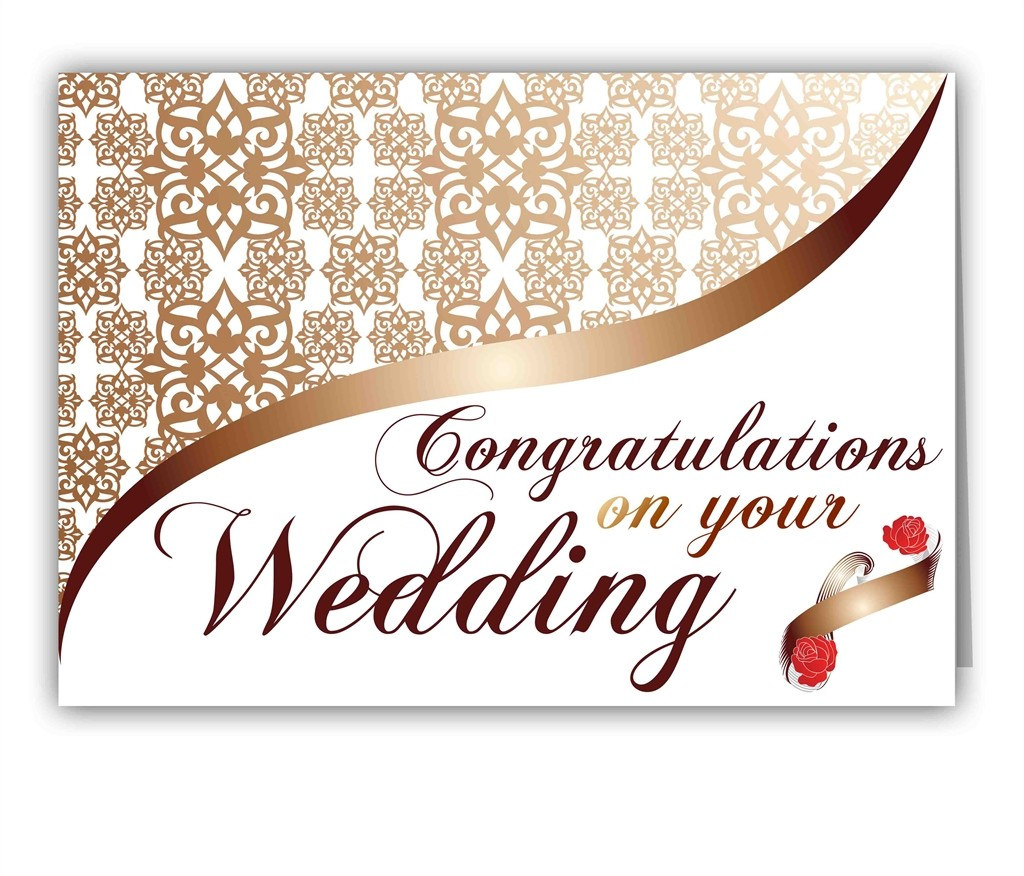 Congratulations On Your Wedding Greeting Card Picture