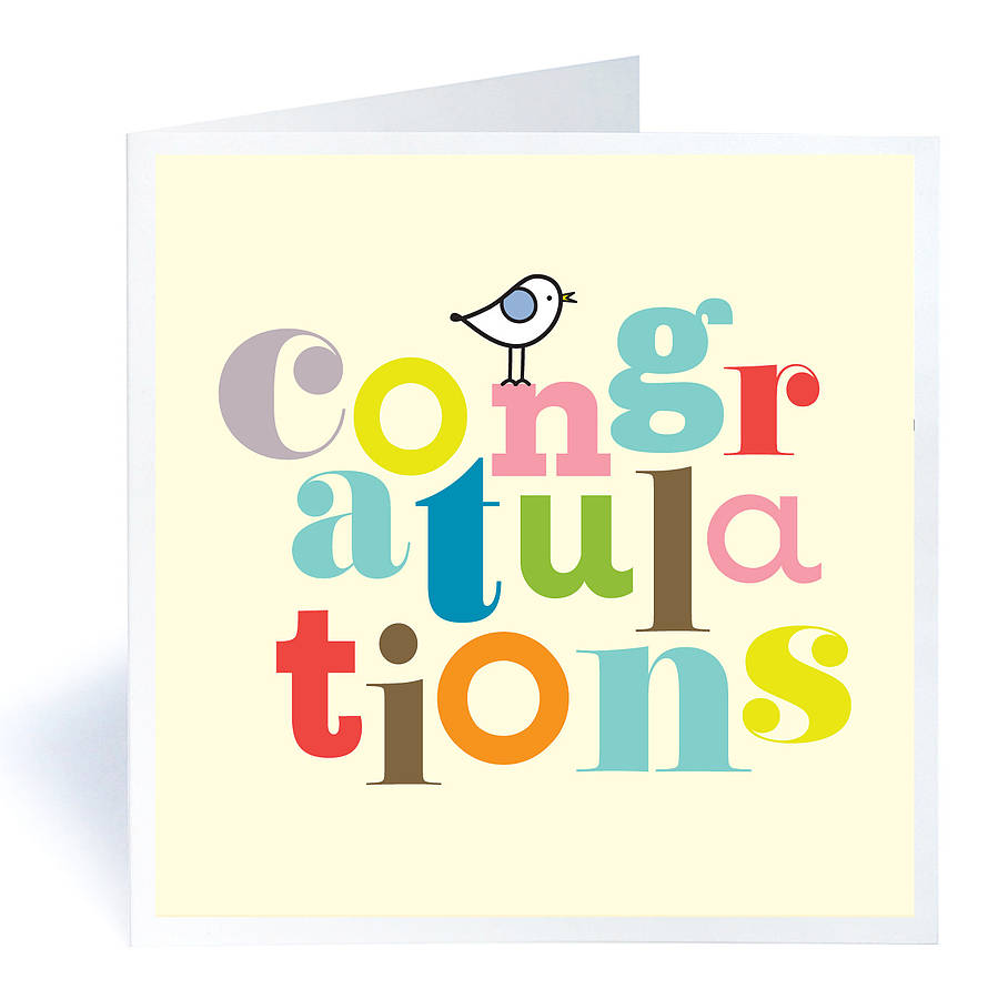 Congratulations Wishes E-Card Greeting