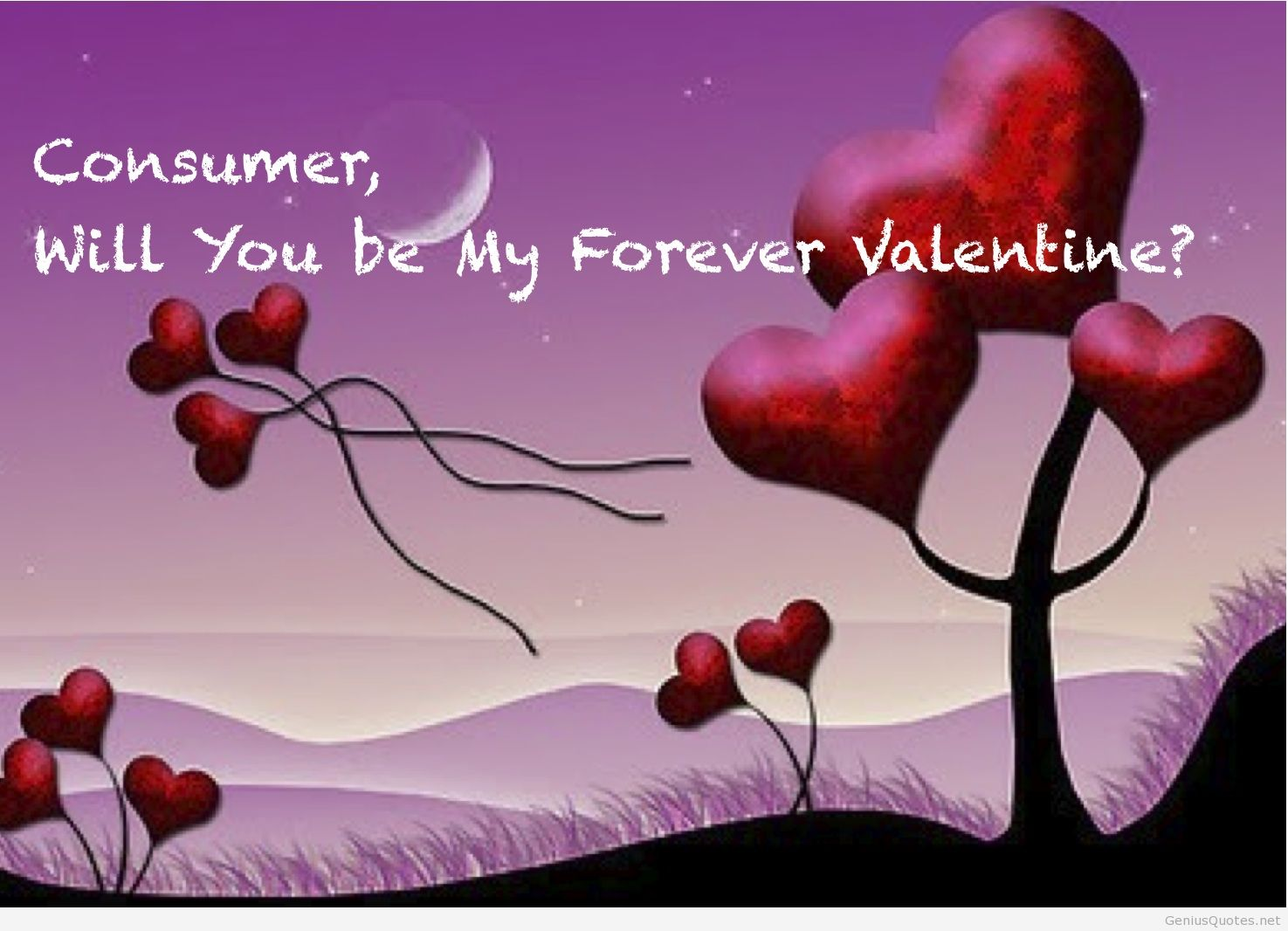 Consumer Will You Be My Forever Valentine Image