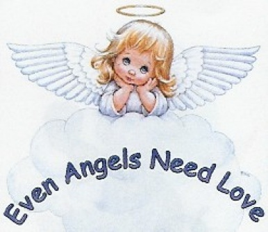 Cute Angel Even Angels Need Love Picture