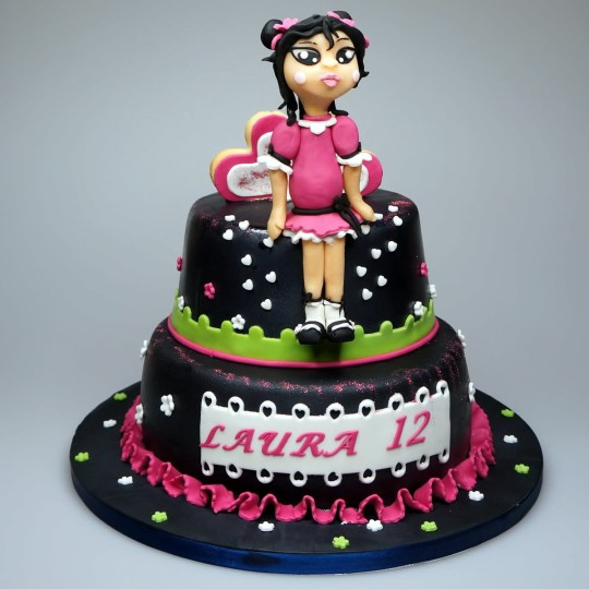 Cute Daughter Birthday Cake Idea