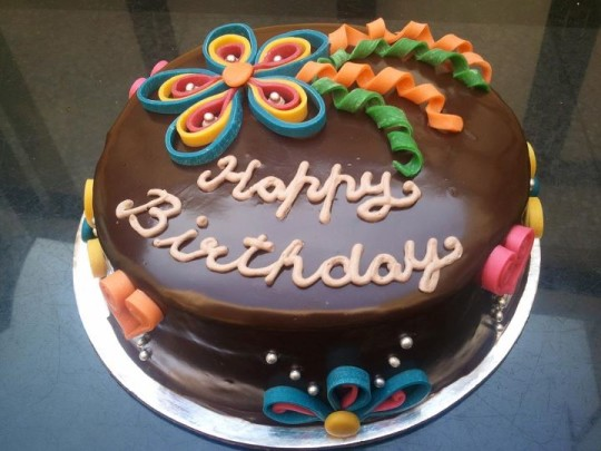 Delicious Chocolate Birthday Cake Design