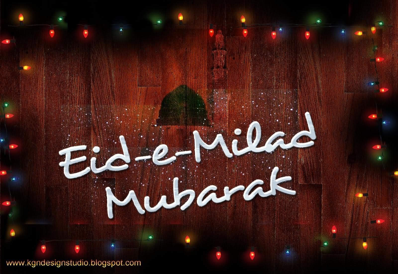 Eid E Milad Mubarak Greeting Picture