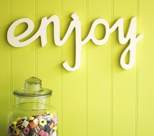 Enjoy On Wall Decoration Image