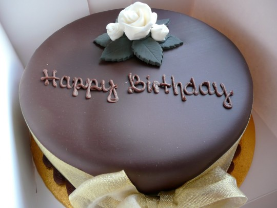 Fantastic Chocolate Birthday Cake Image