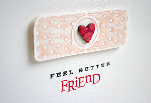 Feel Better Friend Wishes Card