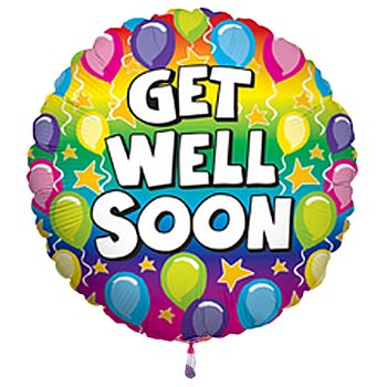 Get Well Soon Balloon Image