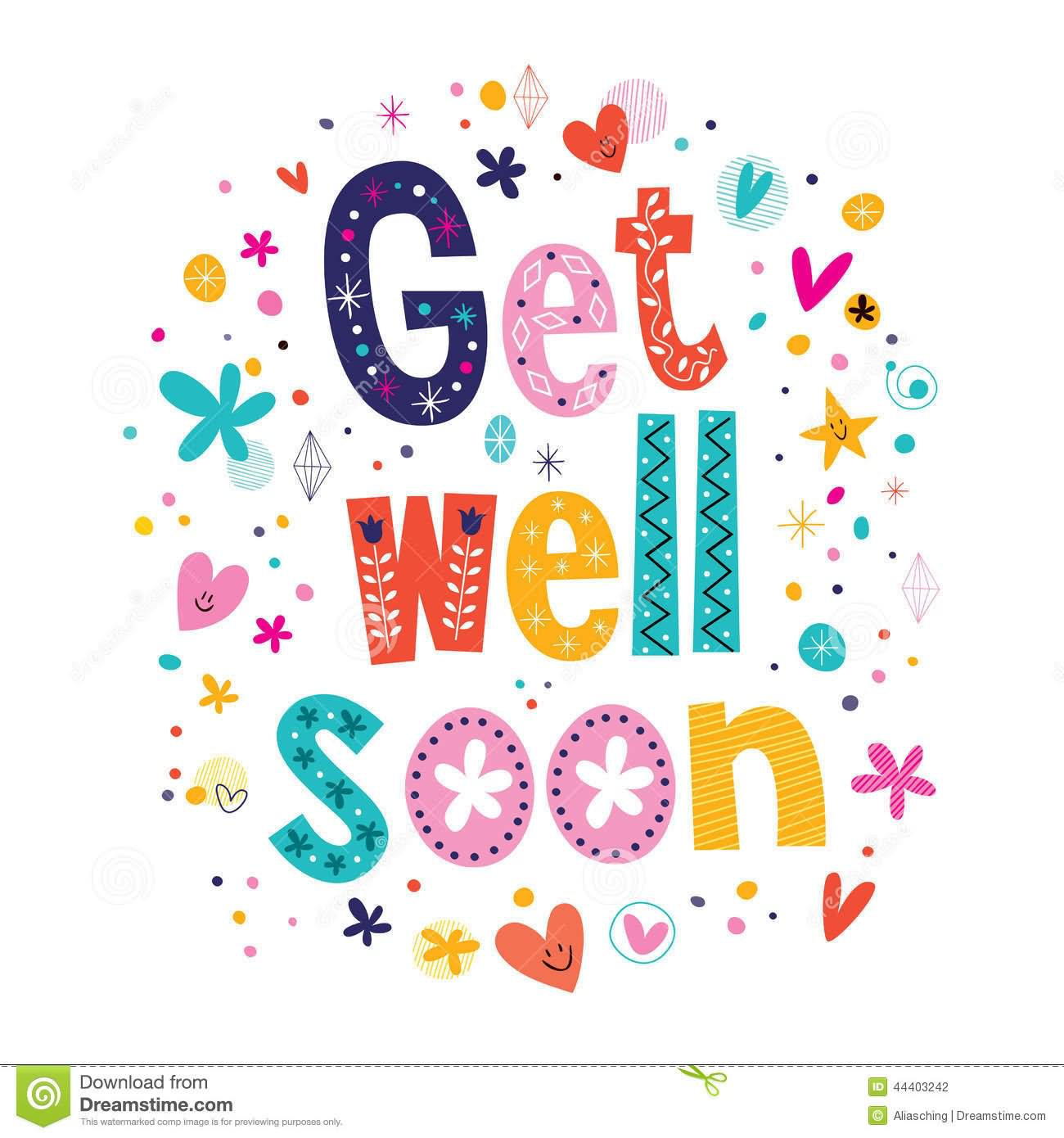 Get Well Soon Beautiful Greeting