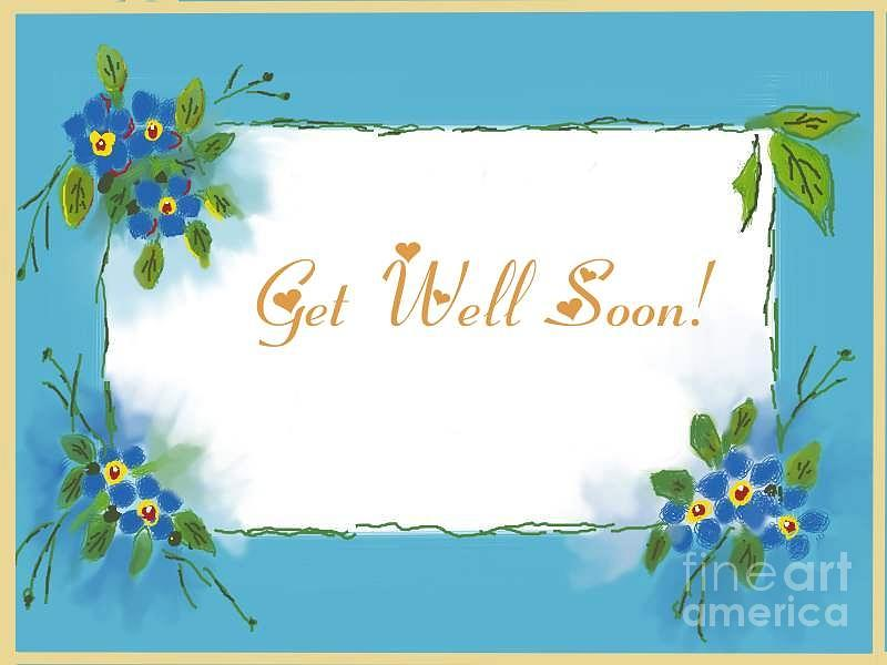 Get Well Soon E-Card