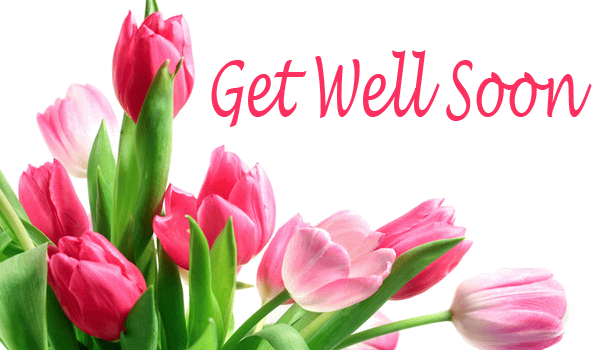 Get Well Soon Fresh Flowers Greeting E-Card