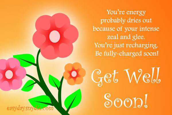Get Well Soon Greeting Quotes