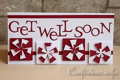 Get Well Soon Incredible Wishes Card
