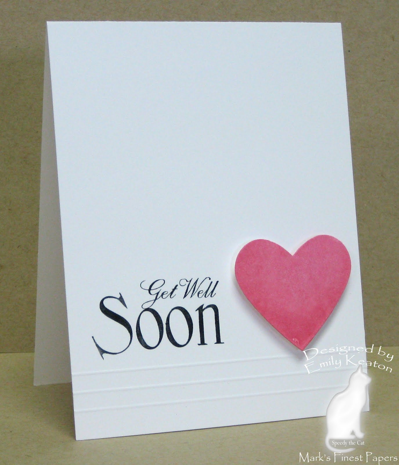 Get Well Soon Love Greeting E-Card Image